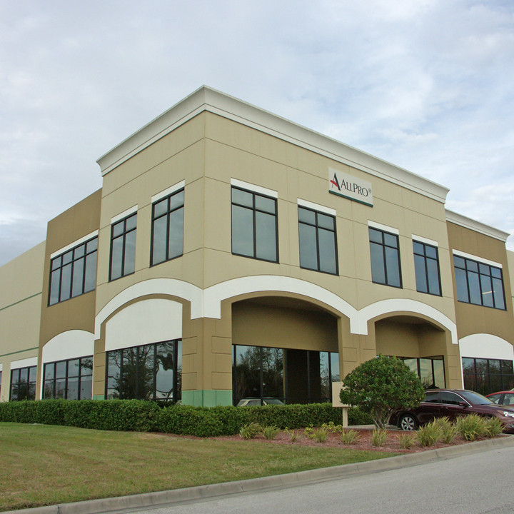 A photo of the ALLPRO Corporate office.